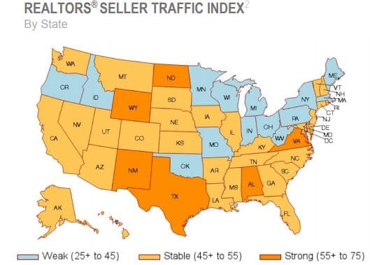 Realtors Seller Index May 2019